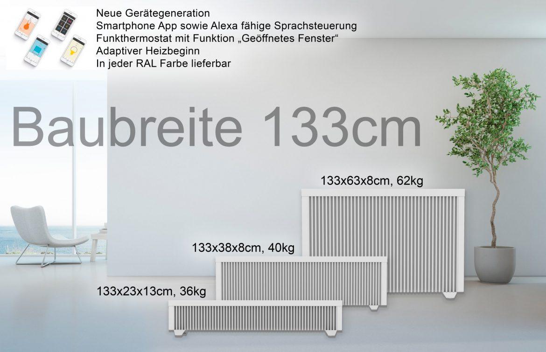 Baubreite 133cm