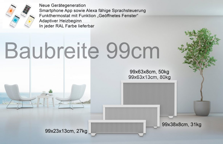 Baubreite 99cm